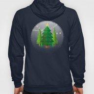 Geometric Christmas Tree… Hoody