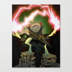 Doomtoad Canvas Print