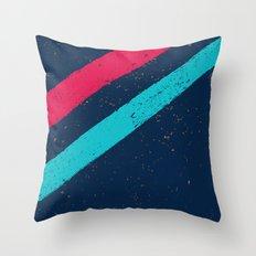 STREET SLANG / Stripes 3 Throw Pillow