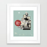The Apple Story Framed Art Print