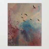 Free Birds Canvas Print