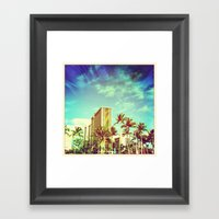 Waikiki Framed Art Print