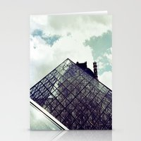 Louvre Pyramid I Stationery Cards