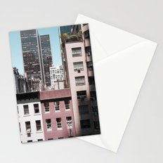 view of NYC from a MoMa window... Stationery Cards