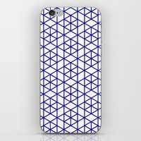 Karthuizer Blue & White Pattern iPhone & iPod Skin
