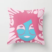 Bjork: All is Full of Love Throw Pillow