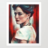 Art Print featuring Irene Adler by Alice X. Zhang