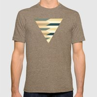 Pencil Clash I Mens Fitted Tee Tri-Coffee SMALL