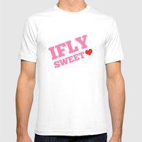IFLY Sweetheart Mens Fitted Tee White SMALL