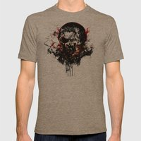 Metal Gear Solid V: The … Mens Fitted Tee Tri-Coffee SMALL