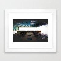 Alley Up Framed Art Print