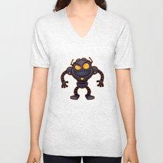 Angry Robot Unisex V-Neck