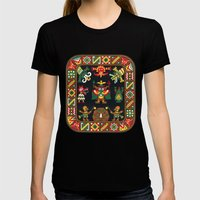 Inca Womens Fitted Tee Black SMALL