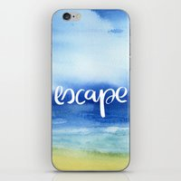 Escape [Collaboration with Jacqueline Maldonado] iPhone & iPod Skin