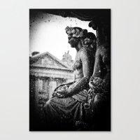 Place De La Concorde Fou… Canvas Print