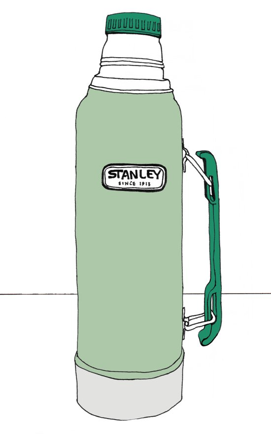 Classic Stanley Thermos Art Print