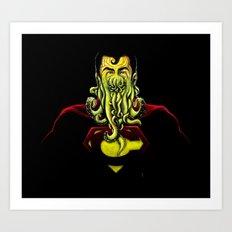 SuperCthulhu Art Print