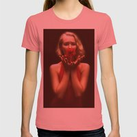 The Poet Womens Fitted Tee Pomegranate SMALL
