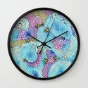 Reef #3 Wall Clock