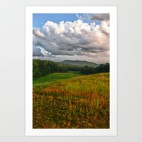 Catcher In The Rye View Art Print