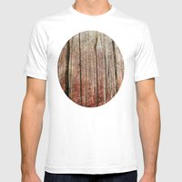 Time Stands Still Mens Fitted Tee White SMALL
