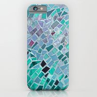 iPhone & iPod Case featuring Crashing Waves Mosaic by Intrinsic Journeys