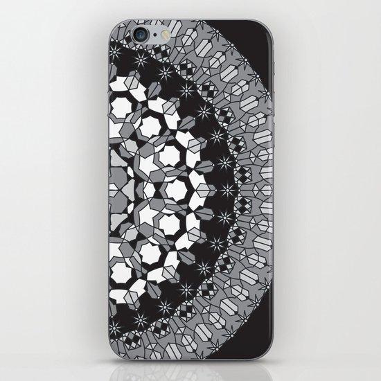Octagon Rosette 003 | Monochrome iPhone & iPod Skin