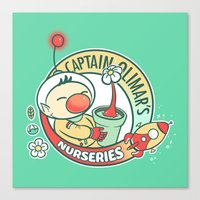 Captain Olimar's Nurseri… Canvas Print