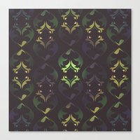 Heart Forest Canvas Print