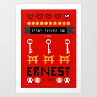 Ready Player One Alternate Cover Art Print