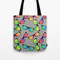 Sunglasses Pattern Tote Bag