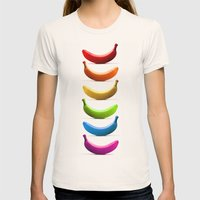 Rainbow Womens Fitted Tee Natural SMALL