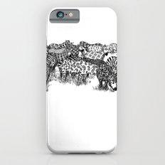 Zebra Print iPhone 6 Slim Case
