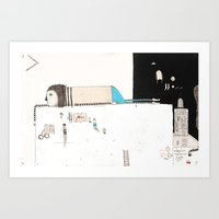 Forgive Yourself And Mov… Art Print