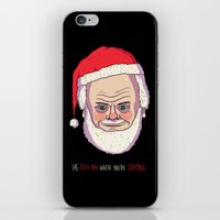 He Sees You When You're … iPhone & iPod Skin