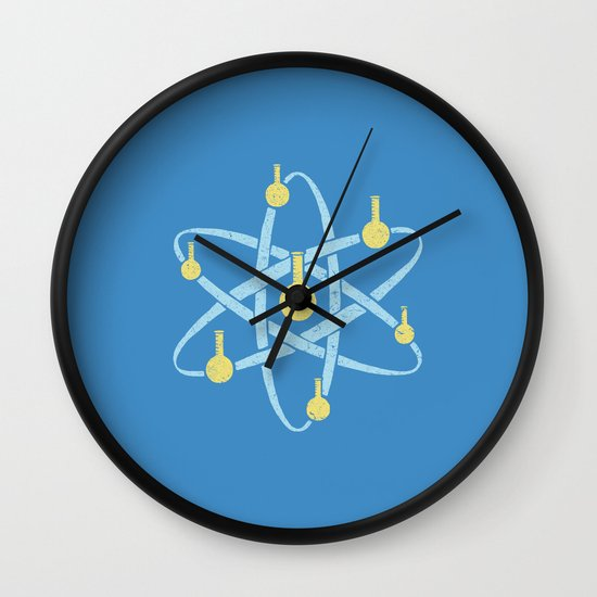Atomic Tube Wall Clock