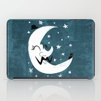 Moon Cat iPad Case