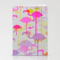 Flamingo Land Stationery Cards