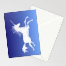 Cloudy Unicorn Stationery Cards