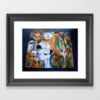MultiERSK Framed Art Print