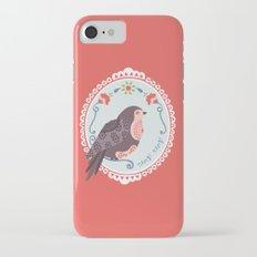 Signorina Pettirosso iPhone 7 Slim Case