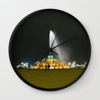 Fountain #1 Wall Clock