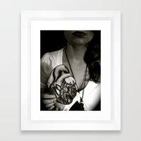 A Beating Heart is Better than None Framed Art Print