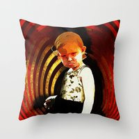 If Looks Could Kill - 00… Throw Pillow