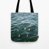 MAINE Ocean Sunlight Tote Bag