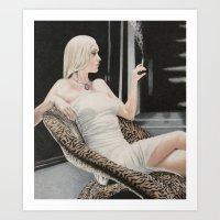 Olivia Wilde Art Print