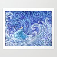 .:Let the Storm Rage On:. Art Print