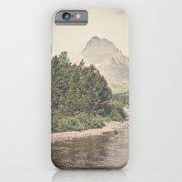 Retro Mountain River iPhone 6 Slim Case