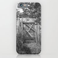 "iPhone & iPod Case featuring Door to the deep down ""LIME"" by Art Pass"
