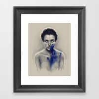 Perfect in the way Framed Art Print